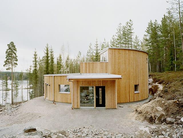 Villa Nyberg Prefab Passive House in Sweden
