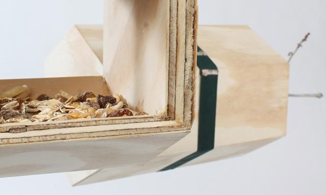 NeighBirds Modular Birds' Nest by Andreu Carulla