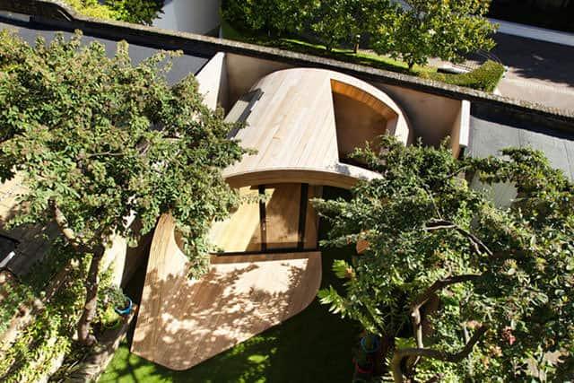 Shoffice Garden Pavilion cum Office by Platform 5 Architects