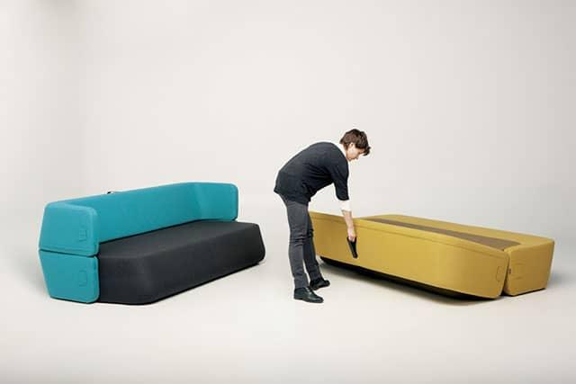 Revolve Sofa-Bed by Numen + R. Bratovic & I. Borovnjak