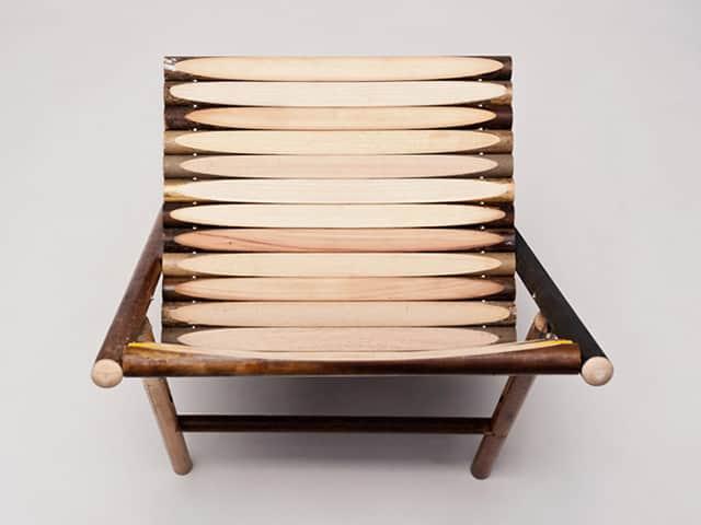 Steel Chair by Reinier de Jong