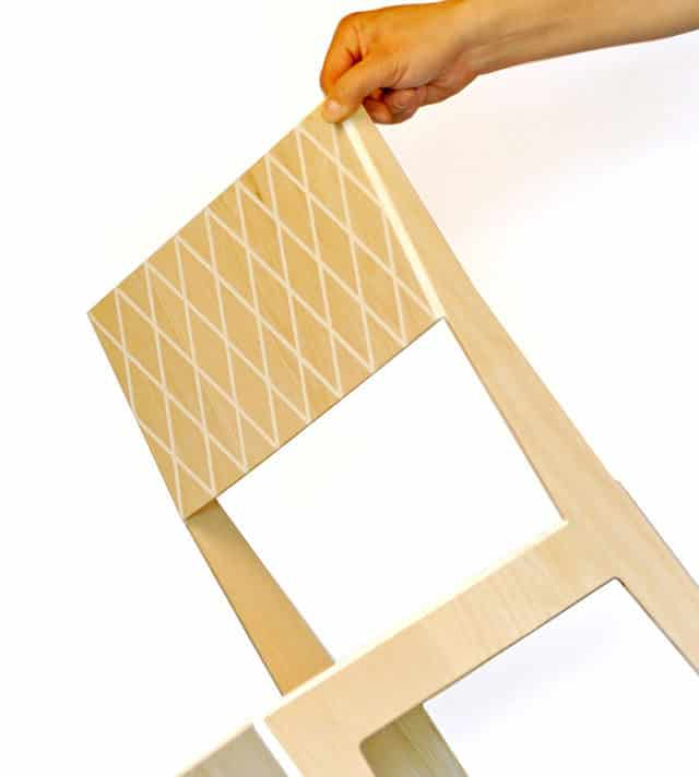 Rombo Chair by J.C. Karich