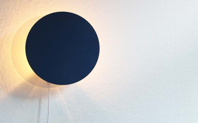 Total Eclipse Wall Lamp by Siv Lier