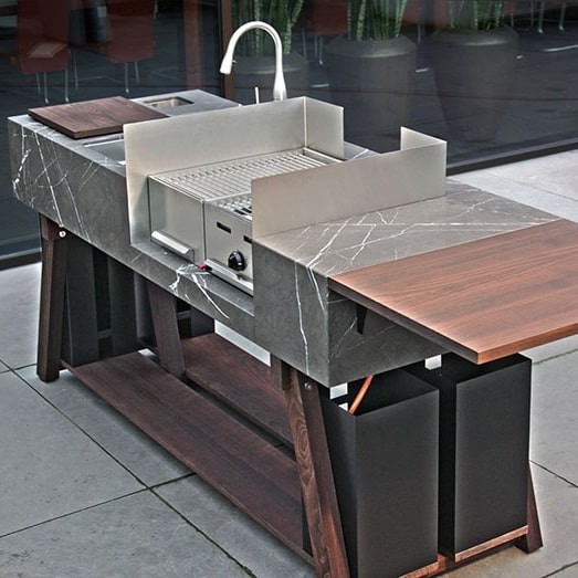 bbqube Outdoor Kitchen by Michael Schmidt