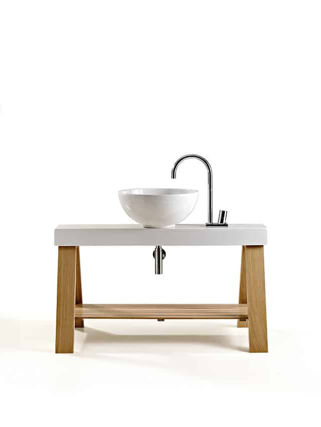 Il Cavalletto Bathroom Furniture by Meneghello Paolelli for Art Ceram