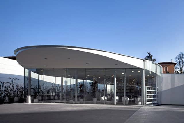 Maranello Library by Andrea Maffei Architects