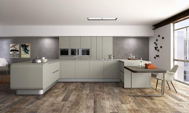 Numerouno Modular Kitchen System by Doimo Cucine