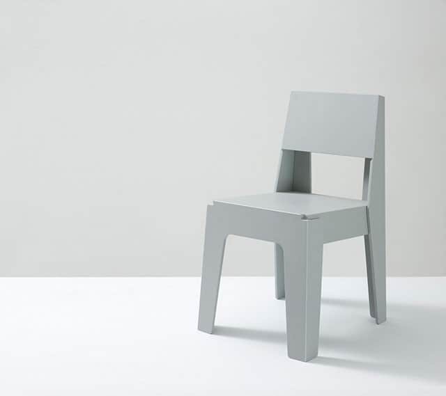 Butter Recycled Plastic Chair by DesignByThem