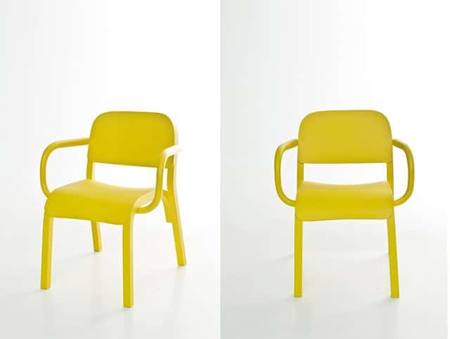 Dumbo Solid Wood Armchair by Tomek Rygalik for Moroso