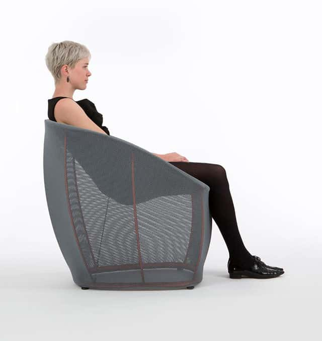 Membrane Lounge Chair by Benjamin Hubert for Classicon