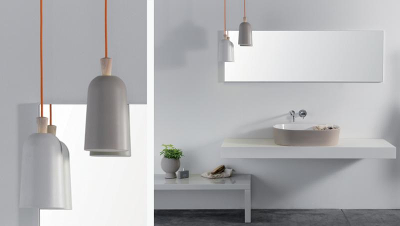 Fuse Porcelain Pendant Lamp by Note Design Studio for E-xt