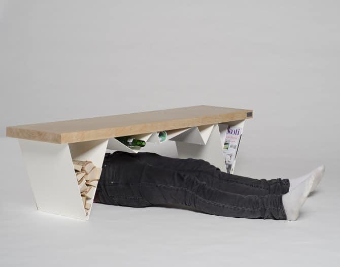 Mägi Bench by Olli Mustikainen and Jari Nyman