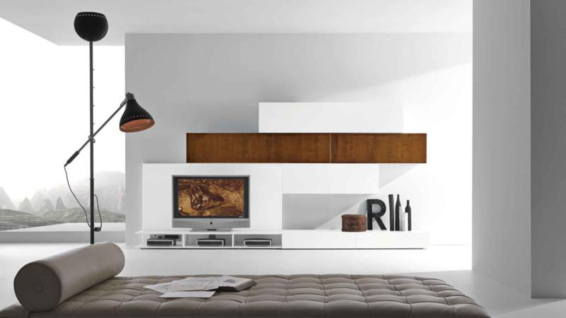 Modern and Rustic Living Room Design