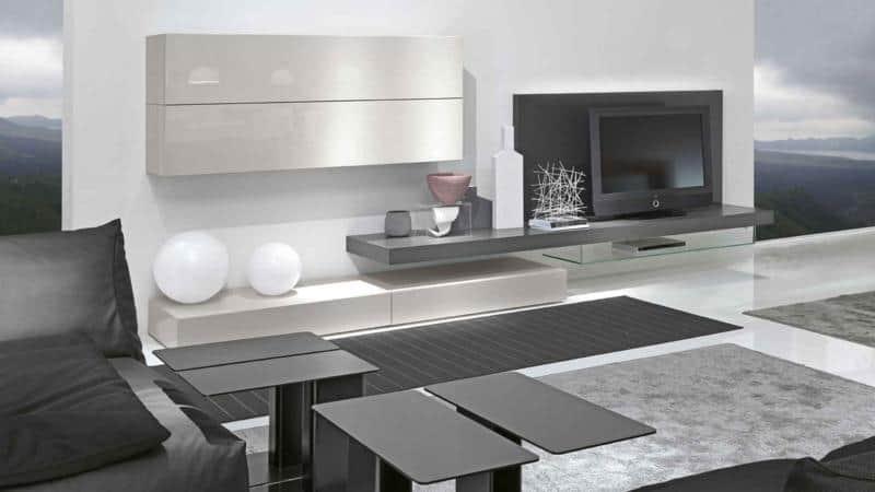 Modern Floating Living Room Furniture Unit