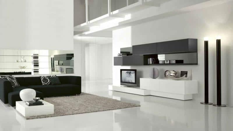 Modern and Minimal Living Room Furniture Design
