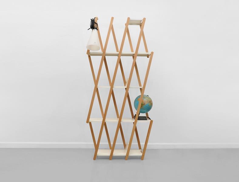 Set Expanding Shelving System by Stephanie Hornig