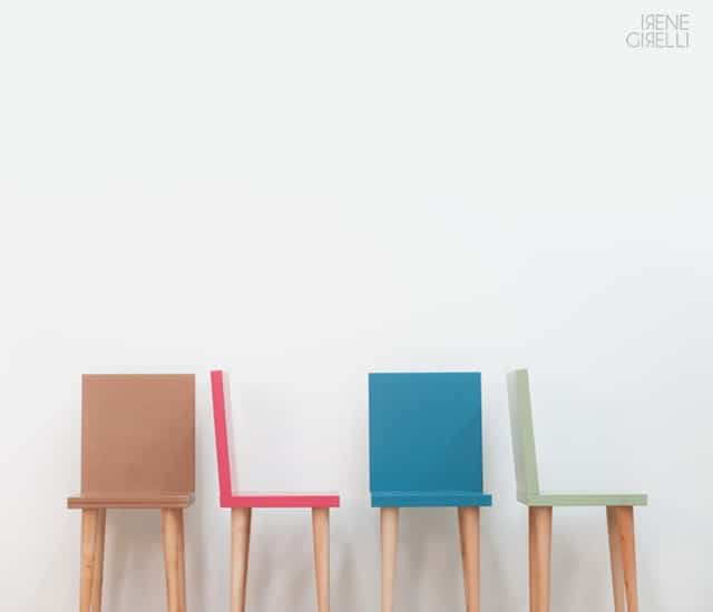 Metrie Chair by Irene Girelli