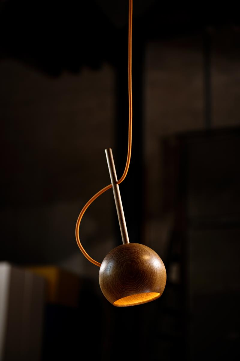 The O Pendant Lamp by Sverre Uhnger