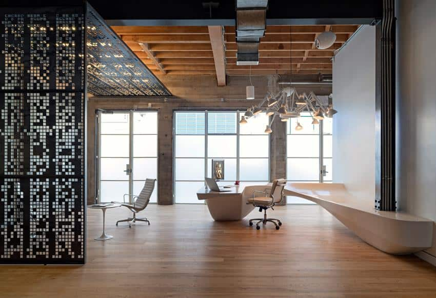Vintage Office Lounge Area