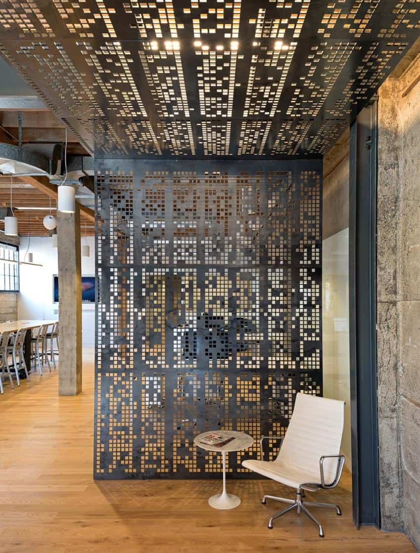 The Giant Pixel Office by Studio O+A