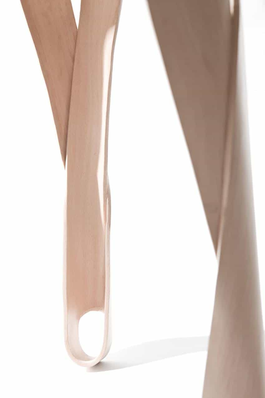 Ribbon Stool by Jan Lutyk