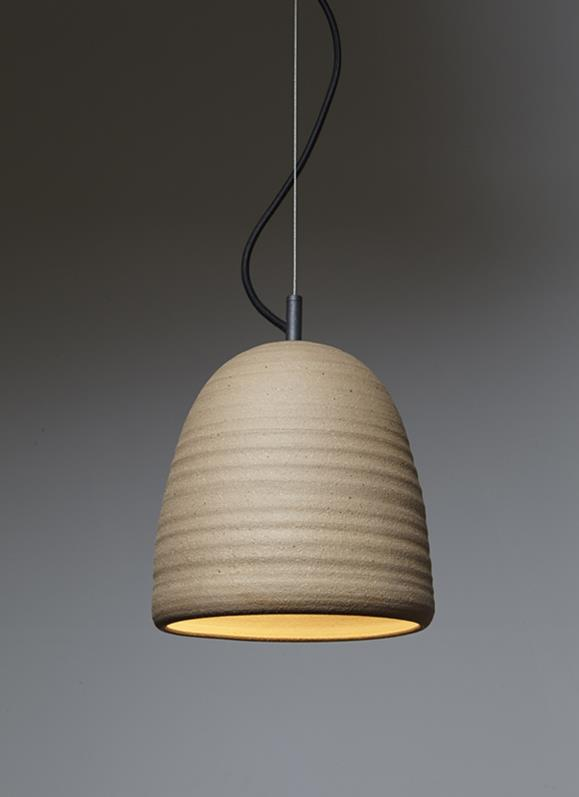 Stoneware Lighting Collection by Adam Cornish