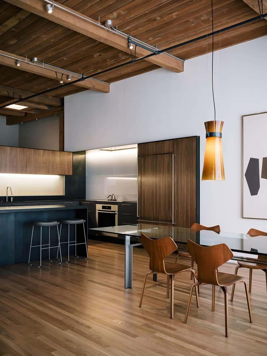 San Francisco Loft Renovation by LINEOFFICE Architecture