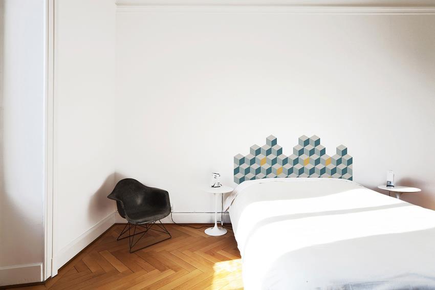 Scandinavian Headboards by Marie-Pier Guilmain and Maud Beauchamp