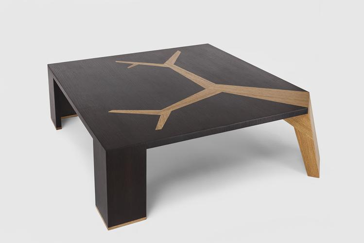 Angkor Table by Olivier Dollé