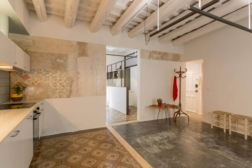 Barcelona Apartment Renovation by Nook
