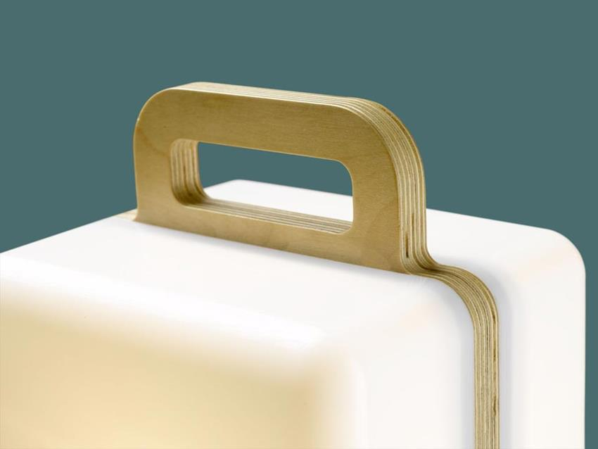 Henk Table Lamp by Jos Blom
