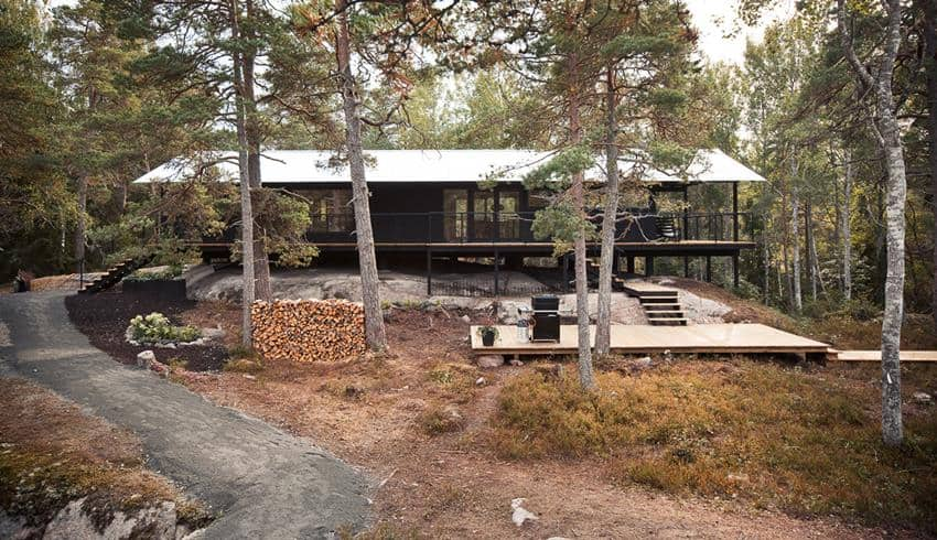 Holiday House Vindö by Max Holst