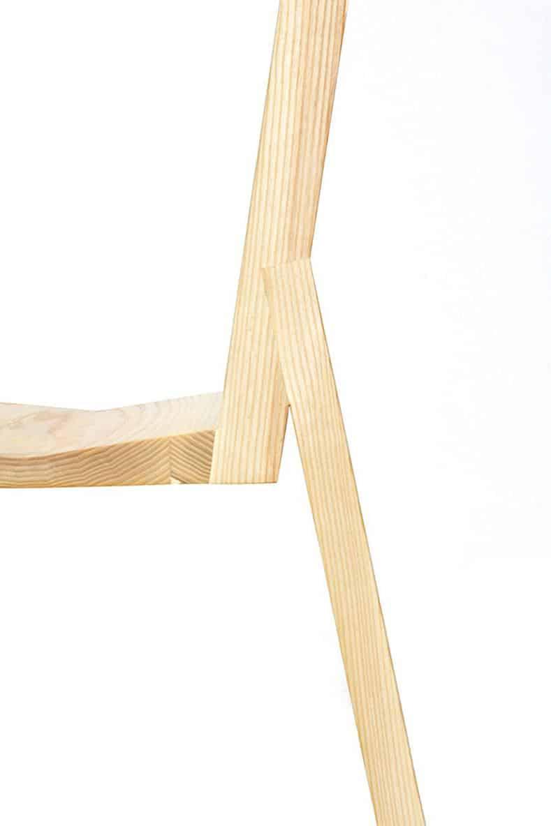 Split Chair by Roni Shalmon