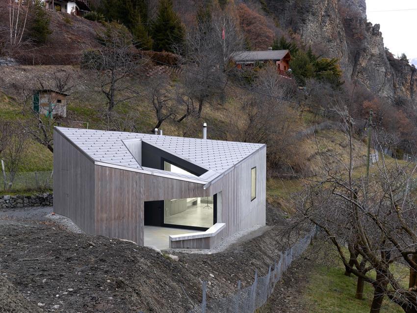 Roduit Studio by Savioz Fabrizzi Architectes