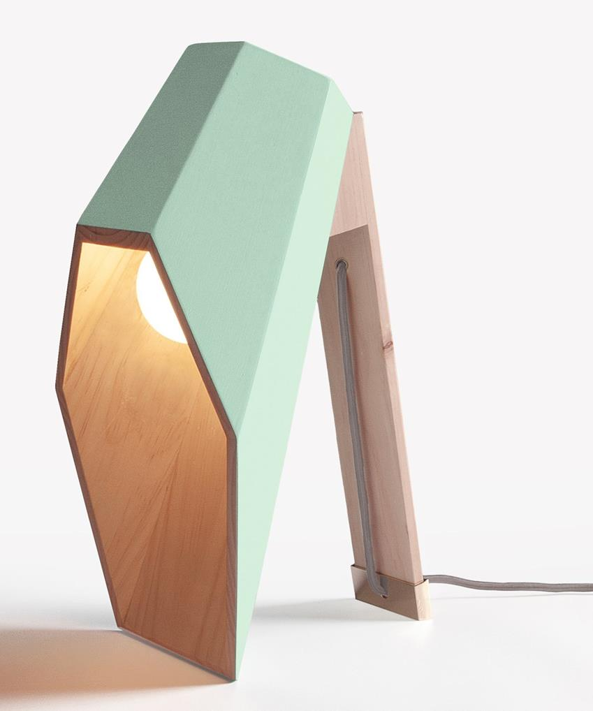 Woodspot Table Lamp by Alessandro Zambelli for Seletti
