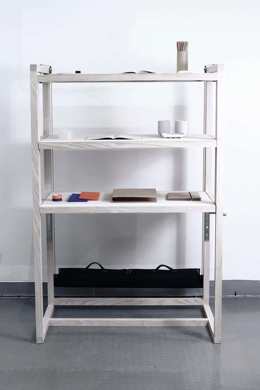 Shelf of Tables by Matej Chabera
