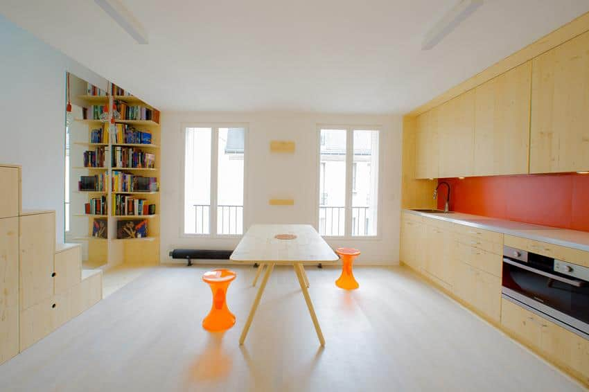 Apartment in Paris by Schemaa