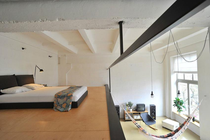 Loft Apartment in Former Radio Technics Factory by Inblum