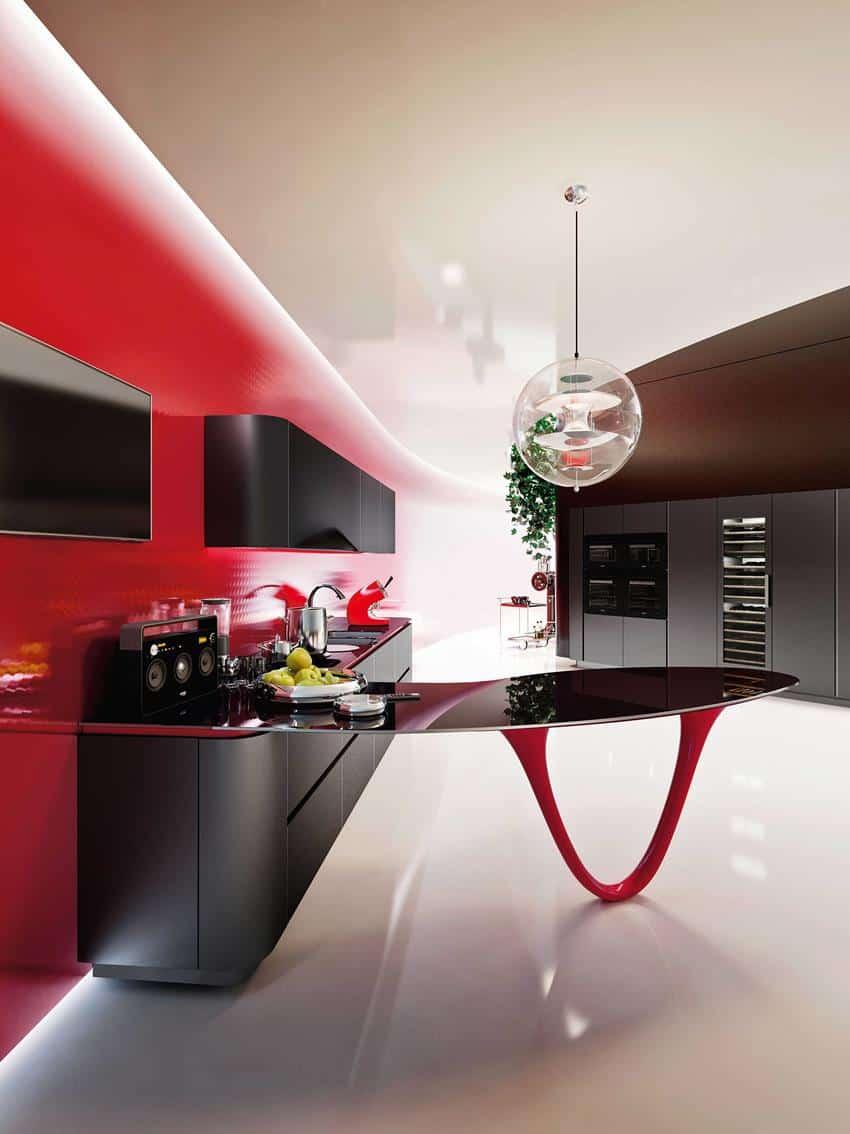 OLA 25 Limited Edition Kitchen by Snaidero & Pininfarina