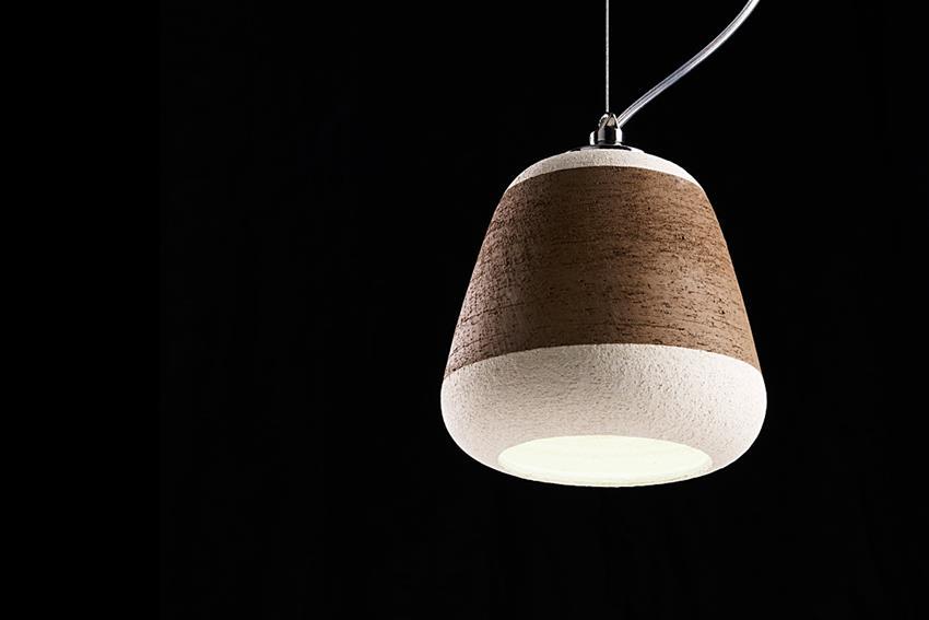 Olla Clay Lamp by Davide G Aquini for Ilide