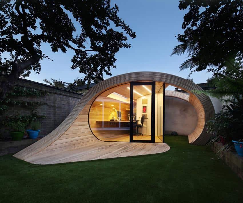 Shoffice Garden Pavilion by Platform 5 Architects