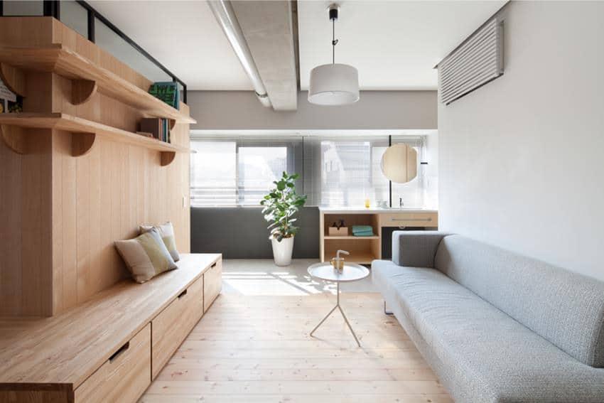 Fujigaoka M Apartment Renovation by Sinato