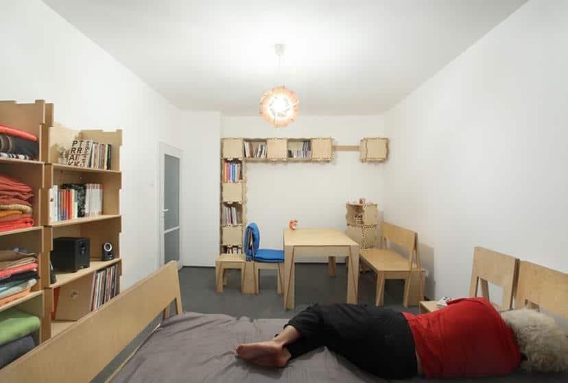 teTRIKs Apartment by Petar Zaharinov