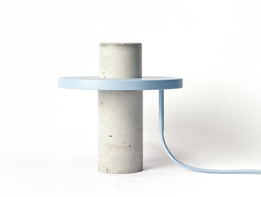 Totem Lamp by Alexandre Dubreuil