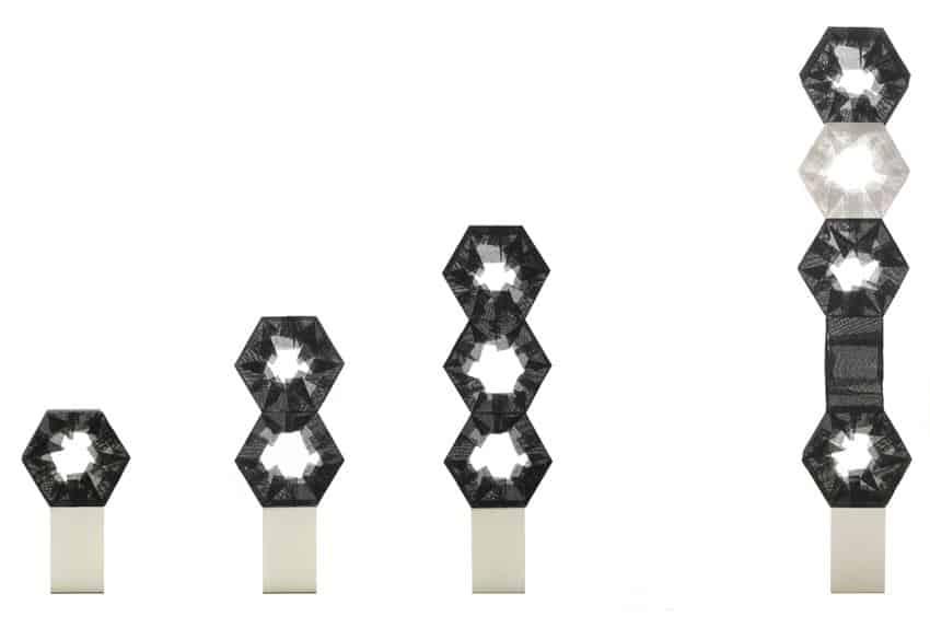 Tuplet Floor Lamp by Taeg Nishimoto
