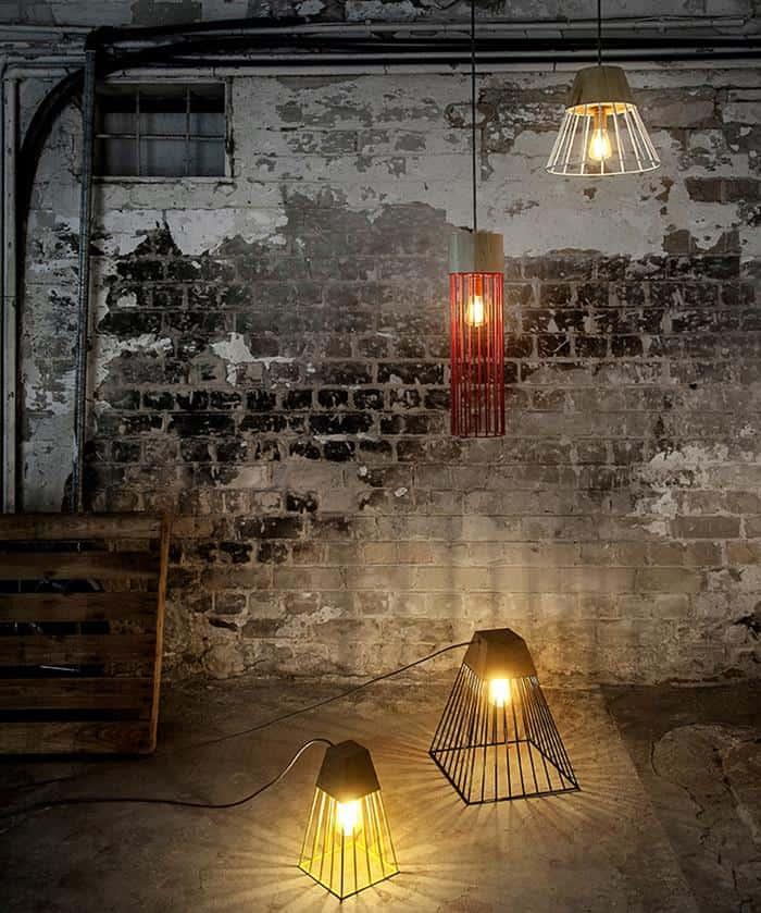 Wiwo Lighting Collection by Haim Evgi
