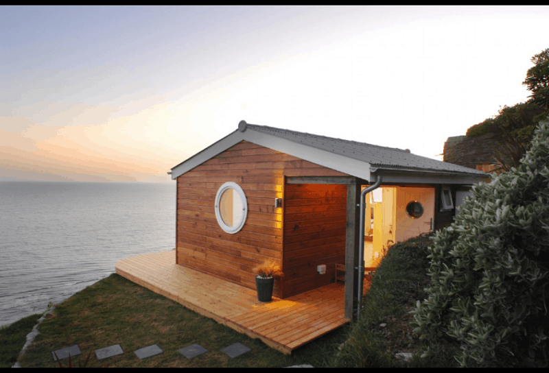 Tiny cottage with a spectacular view