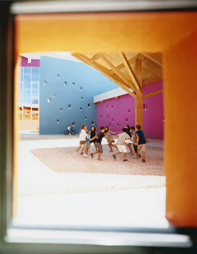 Colorful school in Vicenza, Italy4