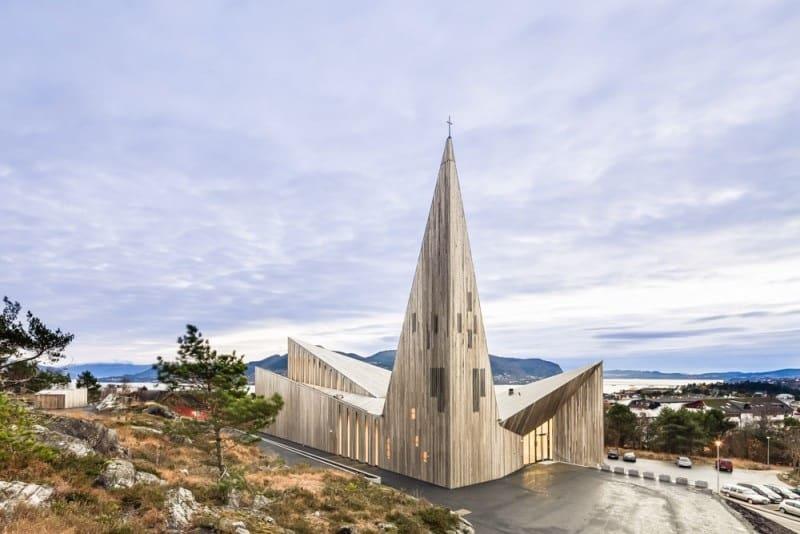 contemporary Norwegian church