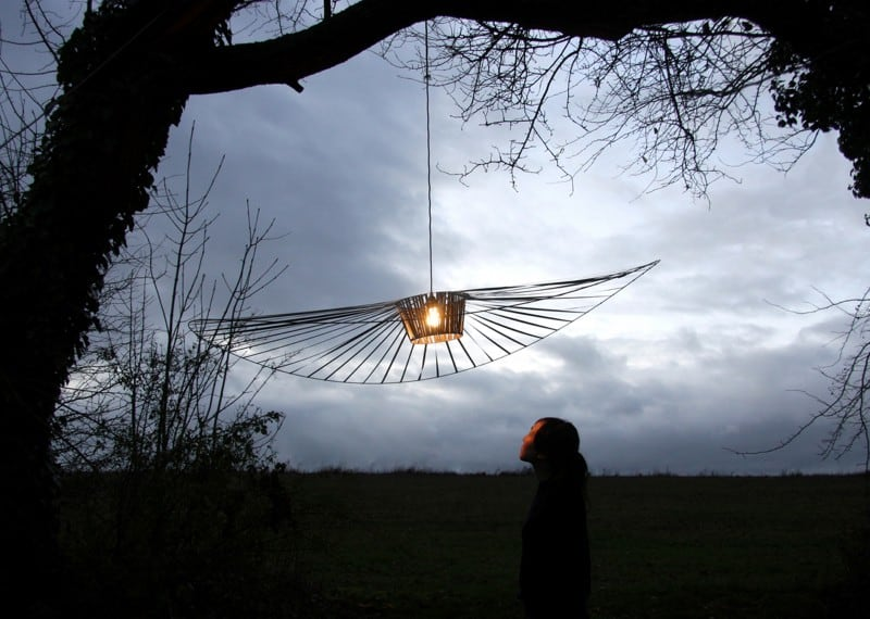 Delicate and modern Vertigo lamp